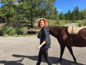 horseback riding in Prince George B.C