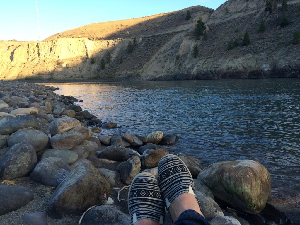 Thompson River at Juniper Beach