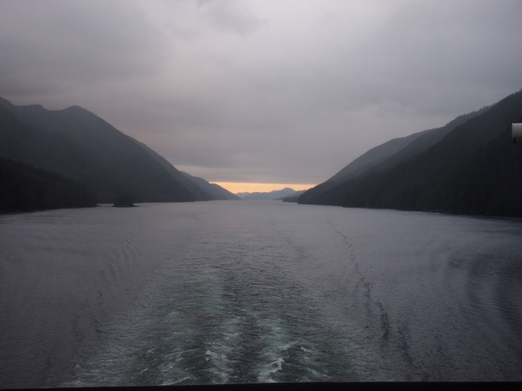 Northern Expedition, B.C Ferries, Inside passage