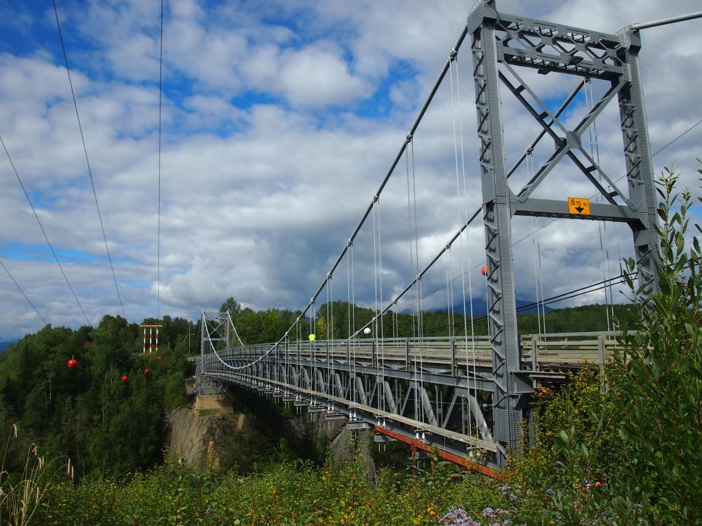 Tall bridge in Hazelton B.C