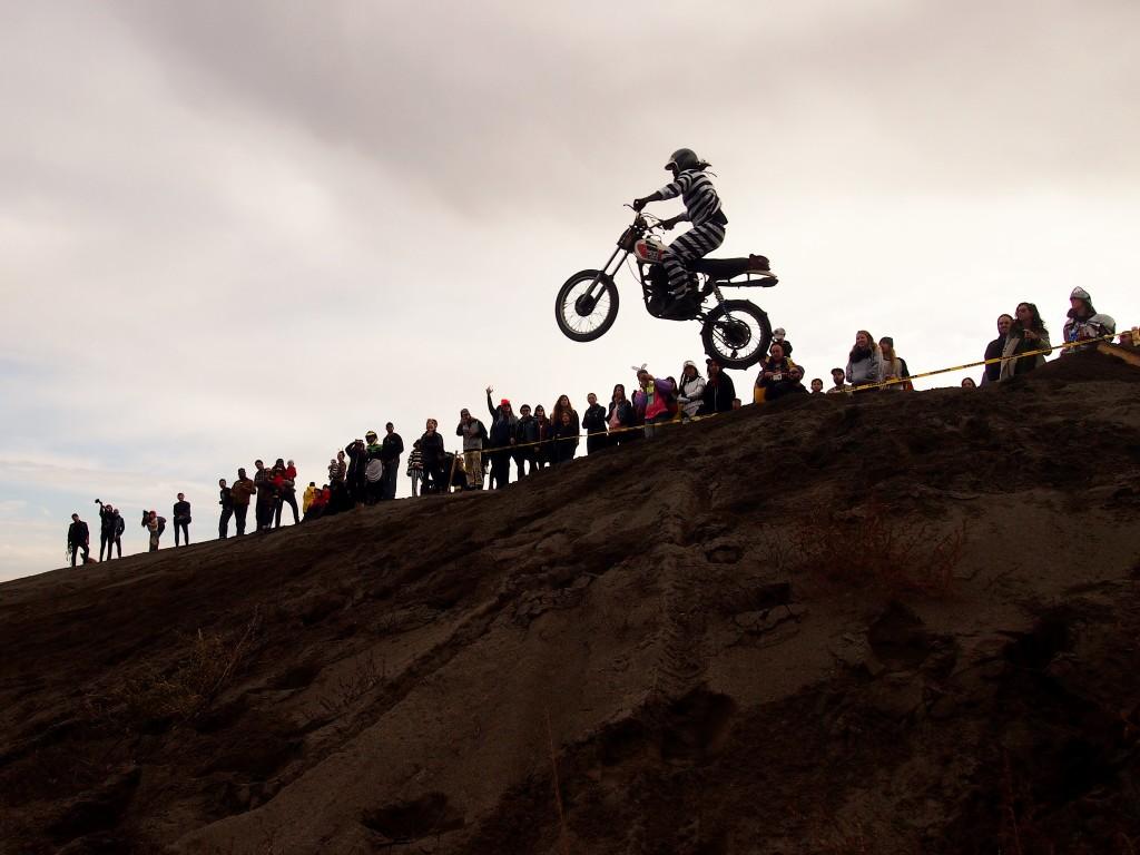 Making the jump at the High Noon Scramble 2015