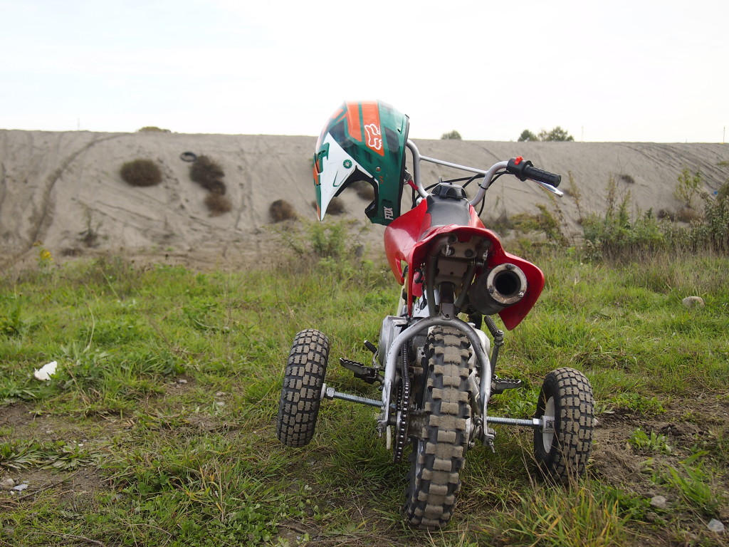 Dirt Biker in training