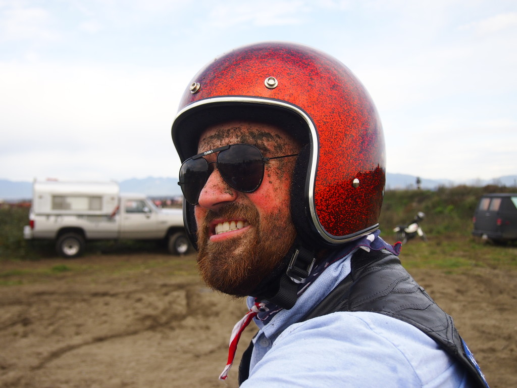 A happy, dirty face at the High Noon Scramble 2015