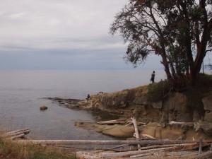 Exploring Mayne Island BC