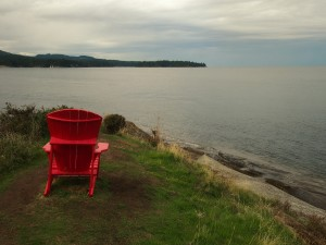 A place to relax on Mayne Island BC