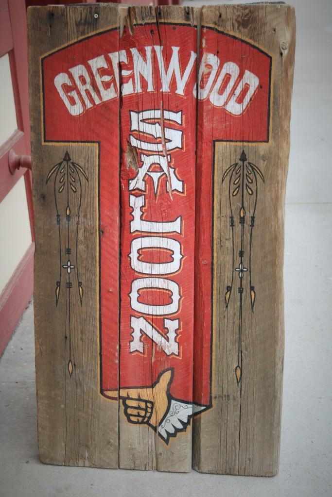 The Greenwood Saloon in Greenwood BC