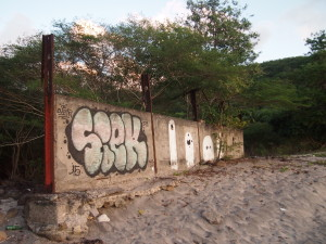 Some graffiti in Guadeloupe