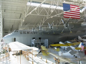 The Spruce Goose at the Evergreen Aviation and Space Museum