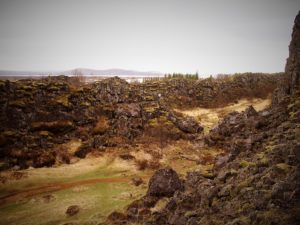 Thingvellir National Park on the golden circle in Iceland on my road trip