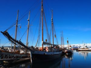 Husavik in North Iceland