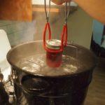 Canning cherry rhubarb jam