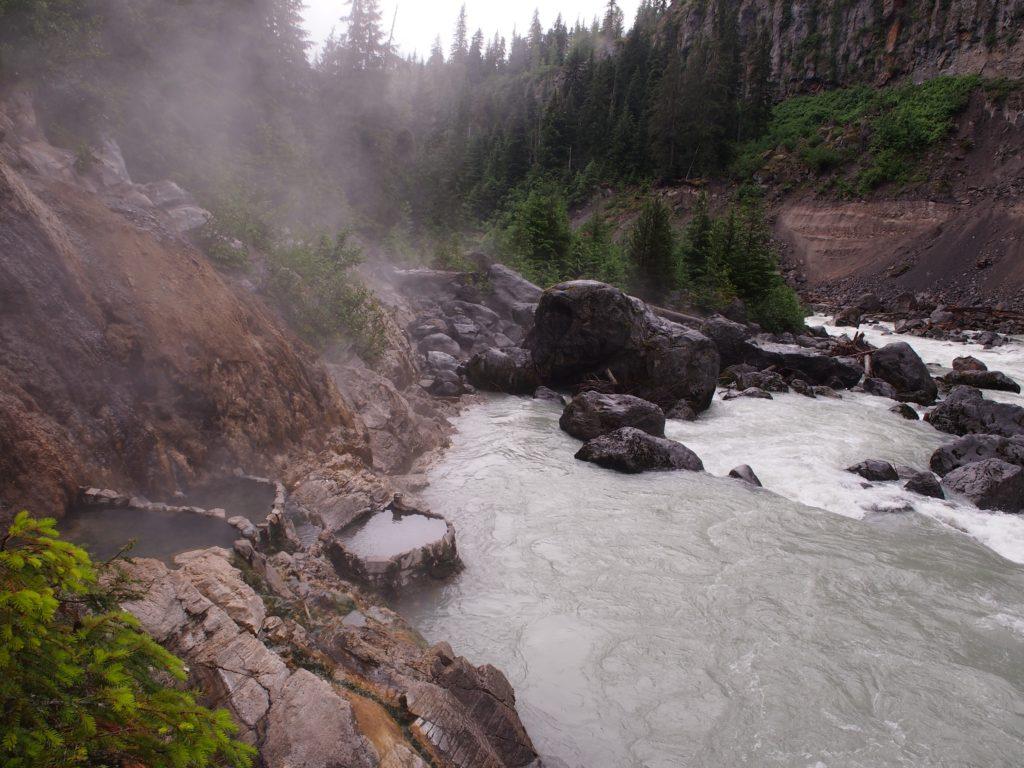 Keyhole Hot Springs in Pemberton B.C