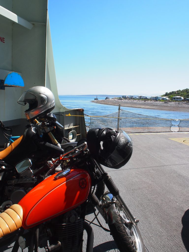 The ferry from fort casey to port townsend washington
